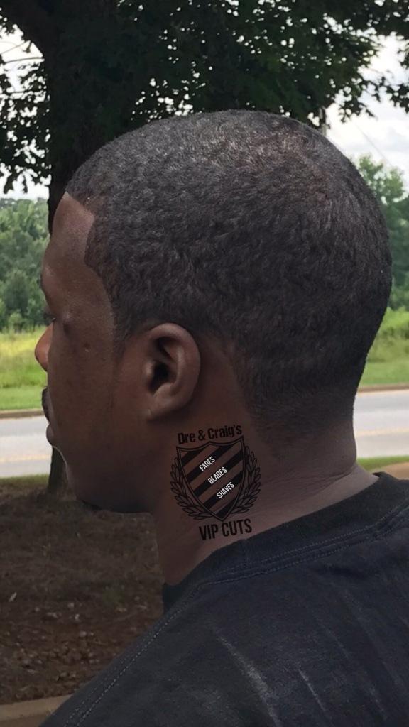 Mcdonough barbershop, brush length cut